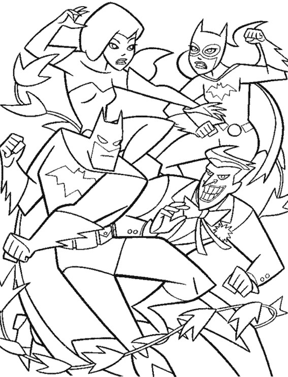 Coloriage et dessins gratuits Batgirl de Film à imprimer
