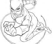 Coloriage Batgirl pour Fille