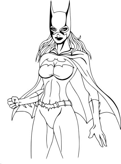 Coloriage et dessins gratuits Supergirl à imprimer
