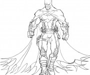 Coloriage dessin  Batman 16