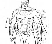 Coloriage dessin  Batman 4