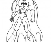 Coloriage dessin  Batman 7