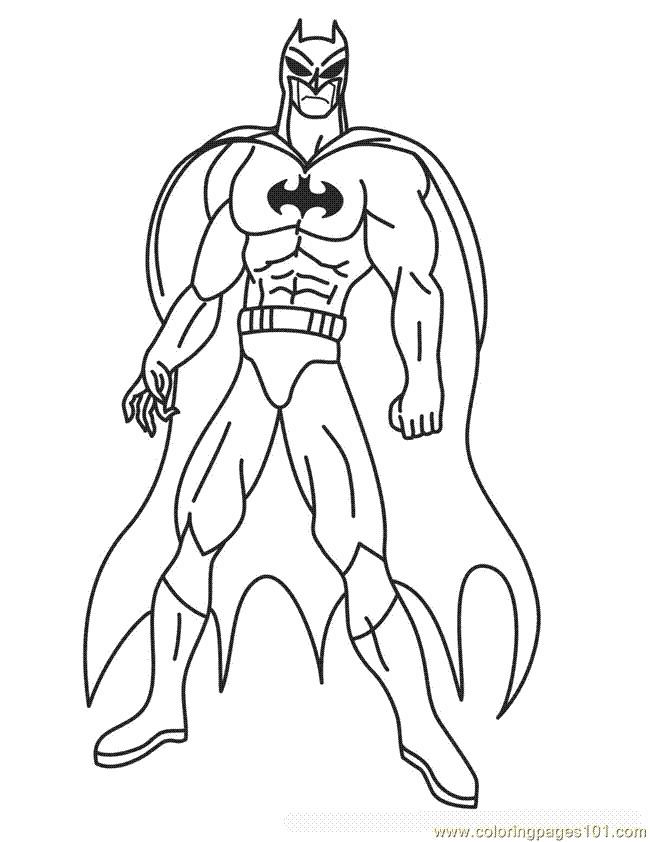 Coloriage batman colorier dessin gratuit imprimer - Batman a imprimer ...