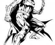 Coloriage et dessins gratuit Batman à télécharger à imprimer