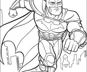 Coloriage Batman Affiche