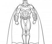 Coloriage et dessins gratuit Batman en Ligne à imprimer