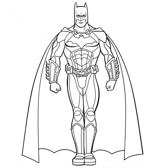 Coloriage En Ligne Gratuit Batman.Coloriage Batman En Ligne Dessin Gratuit A Imprimer