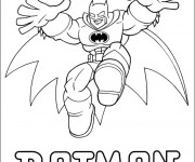 Coloriage et dessins gratuit Batman pour enfant à imprimer
