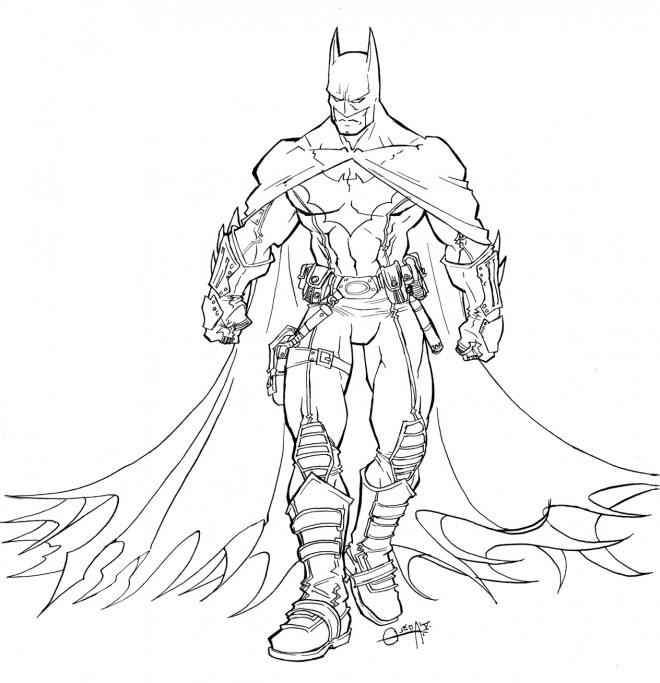 Coloriage batman superh ro dessin gratuit imprimer - Superman et batman dessin anime ...