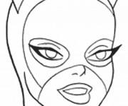 Coloriage dessin  Catwoman 2