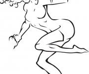 Coloriage dessin  Catwoman 5