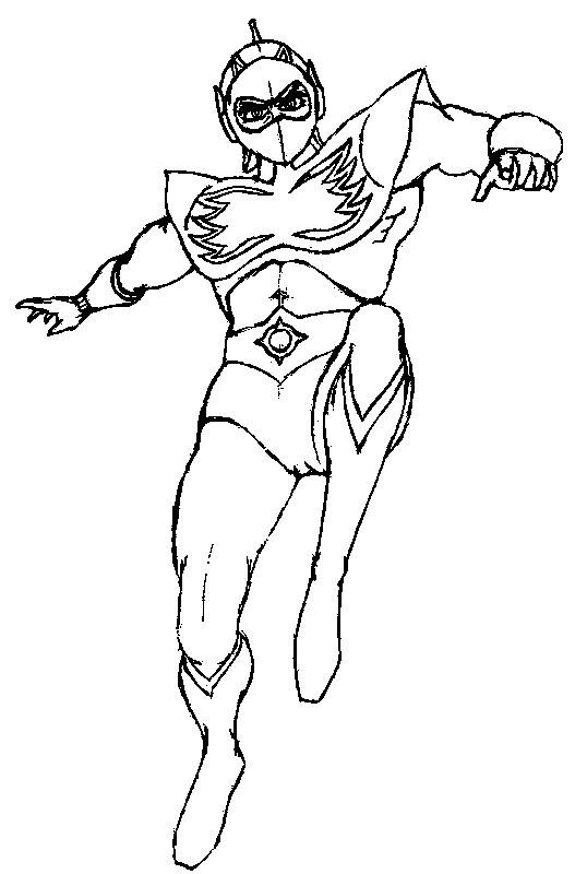 Coloriage et dessins gratuits Goldorak Personnage à imprimer