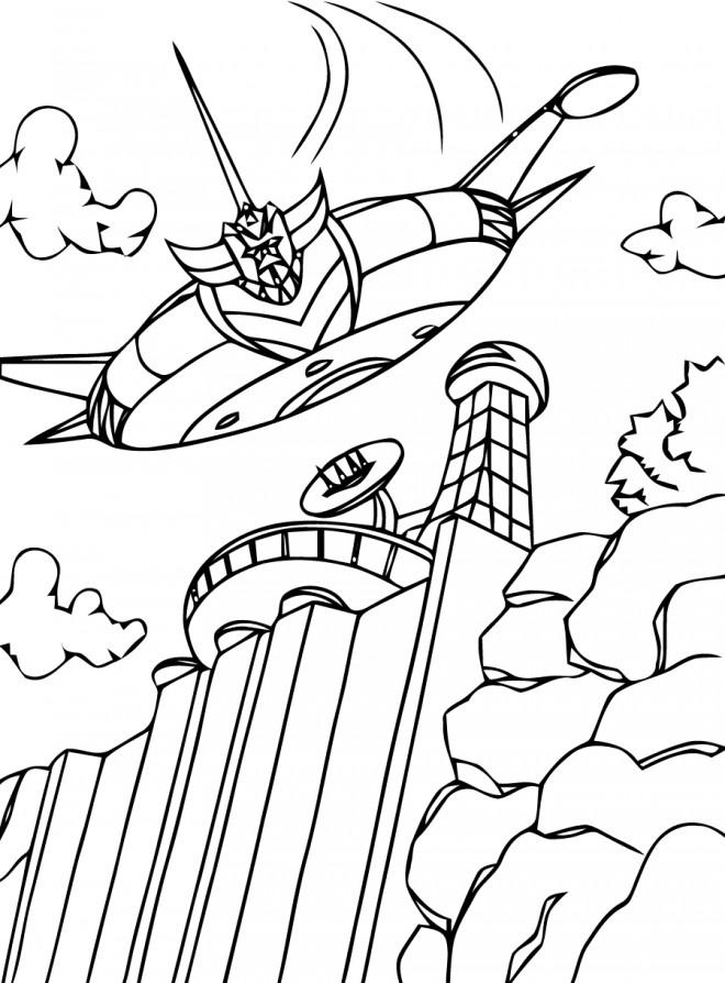 Coloriage et dessins gratuits Goldorak série à imprimer