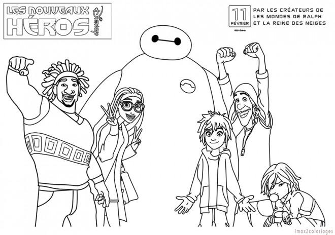 Coloriage et dessins gratuits Héros de Films Les Mondes de Ralph à imprimer