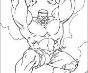 Coloriage et dessins gratuit Hulk simple à imprimer