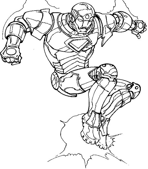 Coloriage et dessins gratuits Image de Iron Man à imprimer