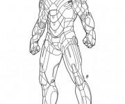 Coloriage Iron Man 1