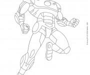 Coloriage Iron Man 10