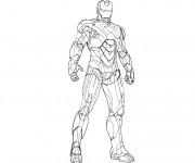 Coloriage Iron Man 12
