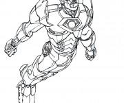 Coloriage Iron Man 13