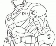Coloriage Iron Man 14