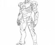 Coloriage Iron Man 18