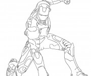 Coloriage Iron Man 5