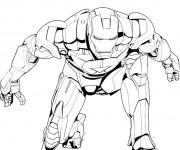 Coloriage Iron Man 7