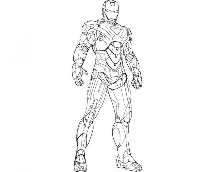 Coloriage et dessins gratuits Iron Man Film à imprimer