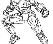 Coloriage Iron Man pour Adulte
