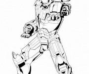 Coloriage et dessins gratuit Iron Man vectoriel à imprimer