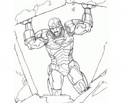 Coloriage L'héro Iron Man