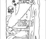 Coloriage Image de Jack et les Pirates