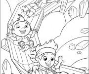 Coloriage et dessins gratuit Jack et les Petits Pirates en s'amusant à imprimer