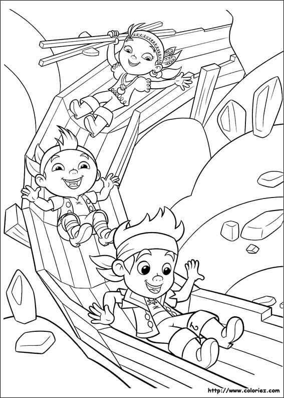 Coloriage et dessins gratuits Jack et les Petits Pirates en s'amusant à imprimer