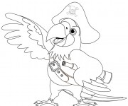 Coloriage dessin  Jack et les Pirates 14