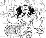Coloriage Jack et les Pirates