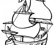 Coloriage Jack et les Pirates 7