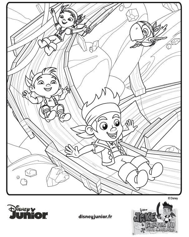 Coloriage et dessins gratuits Jack et les Pirates à télécharger à imprimer