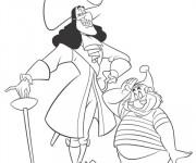Coloriage Jack et les Pirates Capitaine Crochet