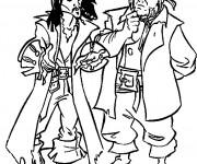 Coloriage Jack et les Pirates des Caraïbes Film