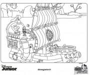 Coloriage jack et les pirates gratuit imprimer liste 40 60 - Jack le pirate dessin ...