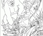 Coloriage dessin  King Kong 2