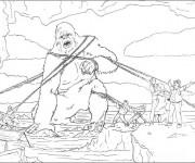 Coloriage dessin  King Kong 8