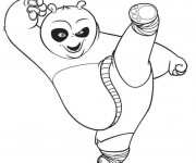 Coloriage Dessin Kung Fu Panda