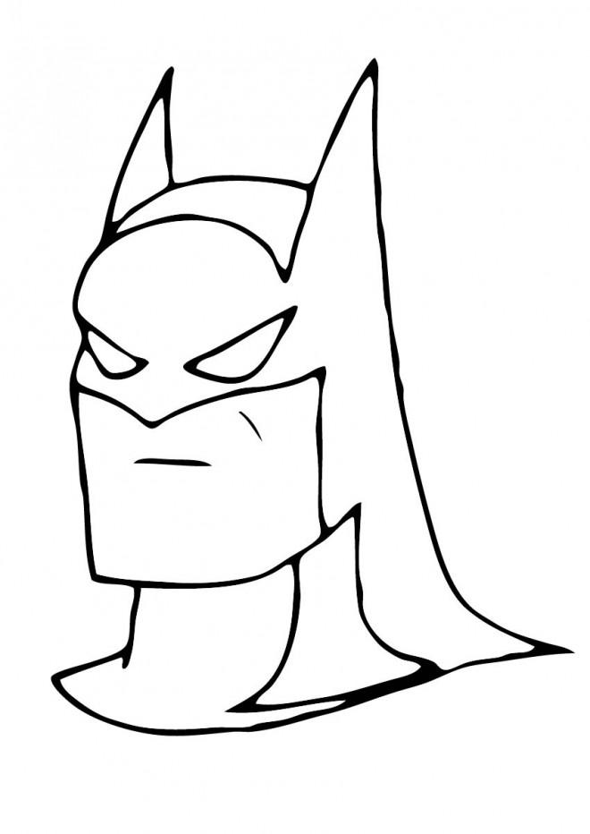le plus fiable trouver le prix le plus bas En liquidation Coloriage Masque Super Héros dessin gratuit à imprimer