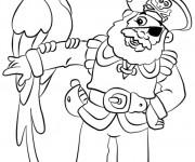 Coloriage dessin  Jack et les Pirates 51