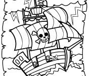 Coloriage et dessins gratuit Jack et les Pirates série à imprimer