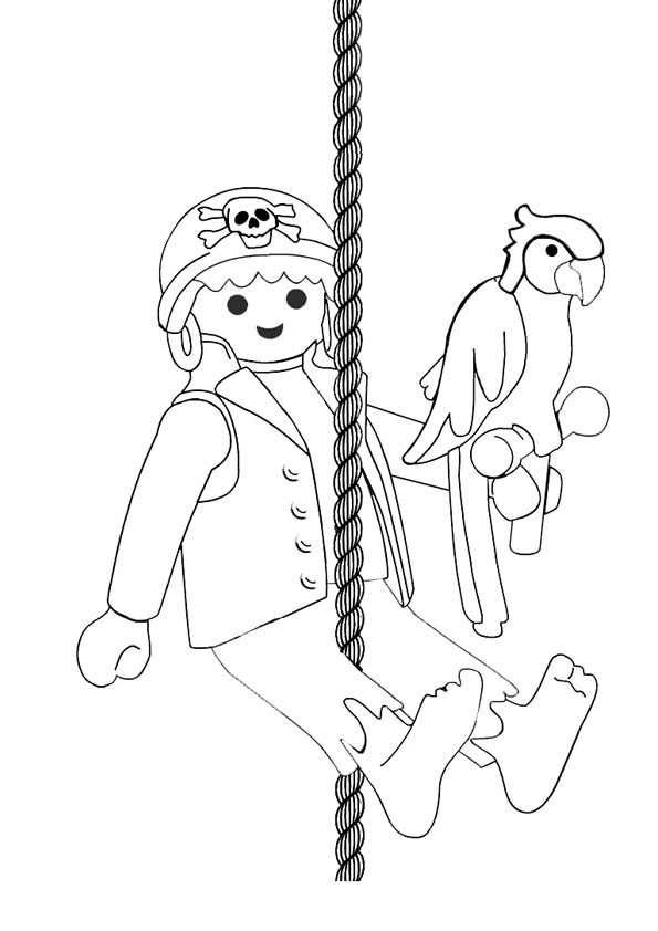 Coloriage et dessins gratuits Pirate Enfant à imprimer