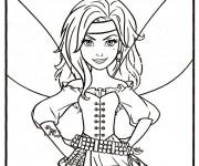 Coloriage et dessins gratuit Pirate Fairy à imprimer